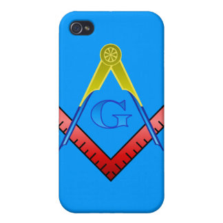 Color Square and Compass Iphone Case Covers For iPhone 4