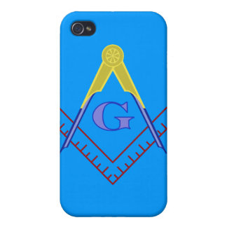 Color Square and Compass Iphone Case iPhone 4 Cases