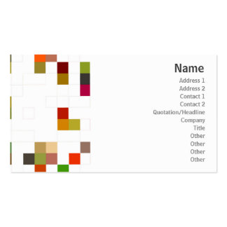 Color Square - Business Double-Sided Standard Business Cards (Pack Of 100)