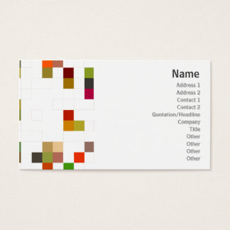 Color Square - Business Business Card