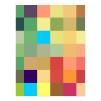 color squares background abstract geometric patter postcard
