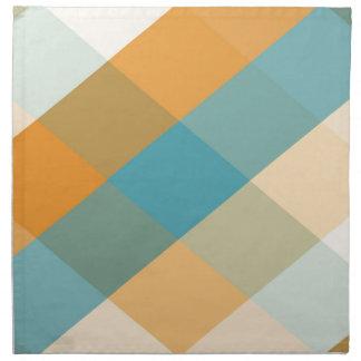 Color Squares Napkin