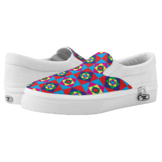 Color squares Slip-On sneakers