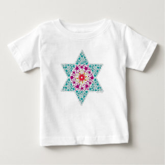 Color Star of David Magen David Baby T-Shirt