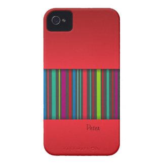 Color & Stripe iPhone Case-Mate Case