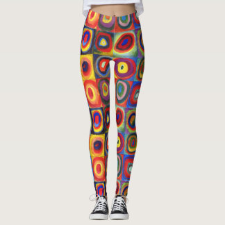 Color Study by Wassily Kandinsky Leggings