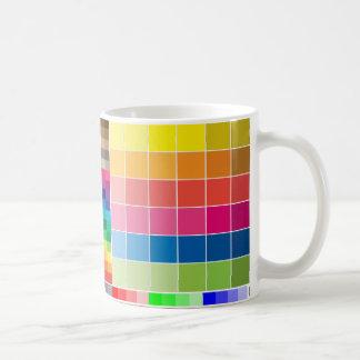 Color Swatch Mug