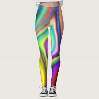 Color Swirl Blast Leggings