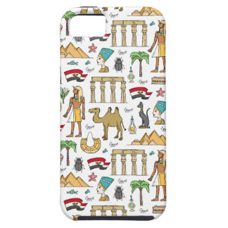Color Symbols of Egypt Pattern Case For The iPhone 5
