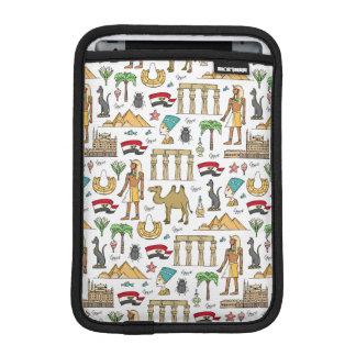 Color Symbols of Egypt Pattern iPad Mini Sleeve