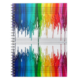 Color The Music or Music the Color Notebook