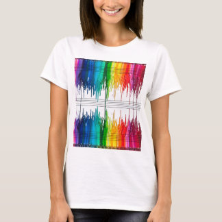 Color The Music or Music the Color T-Shirt
