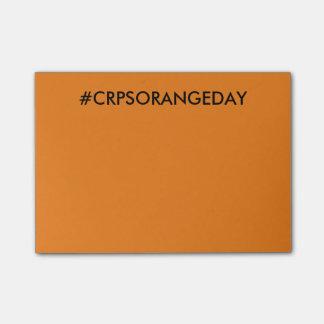 Color The World Orange™ #CRPSORANGEDAY Post-it Post-it Notes