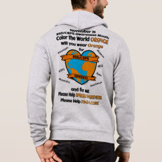 Color the World Orange...RSD/CRPS Hoodie