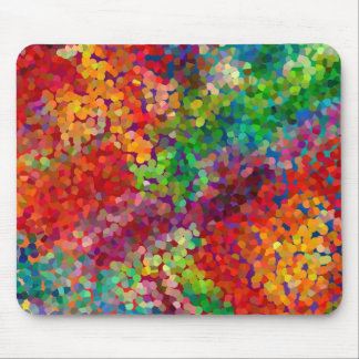 Color Theory Clash Mouse Pad