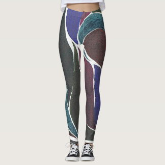 Color Twist (Dark Mix) Leggings