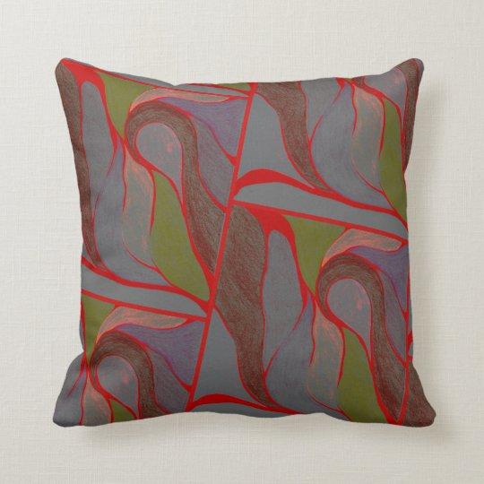 Color Twist (Earthy Elements) Pillow