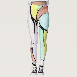 Color Twist (Pastel Mix) Leggings