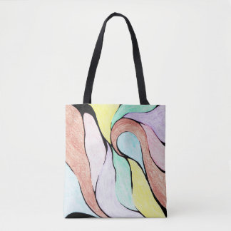 Color Twist (Pastel) Tote