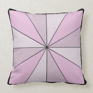 Color Wheel 2 in 1 Pink Yellow Throw Pillow