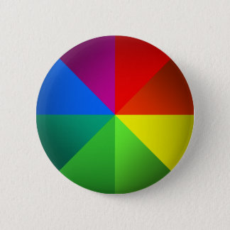Color Wheel 2 Inch Round Button
