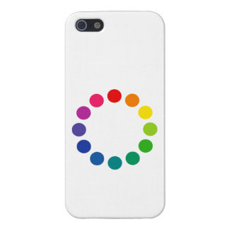 'Color Wheel 2' iPhone 5/5S Cover
