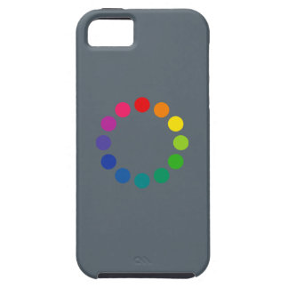 'Color Wheel 2' iPhone 5 Cover