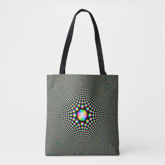 Color Wheel Fractal Tote Bag