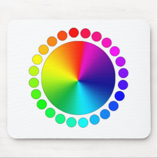 Color Wheel Mouse Pad