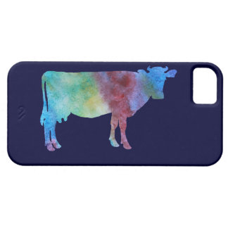 Color-wsahed Cow iPhone 5 Cover