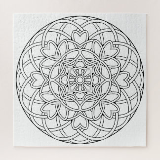 Color Your Own Coloring Book Design Abstract Jigsaw Puzzle
