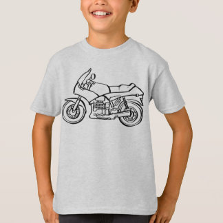 Color-Your-Own Motorcycle Kids' Tee