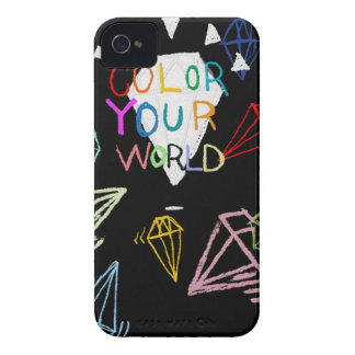 color your world Case-Mate iPhone 4 case