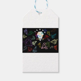 color your world gift tags