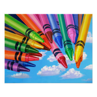 Color Your World - Painting Poster