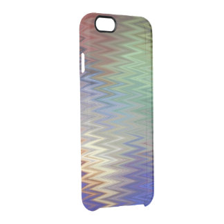 Color Zigzag iPhone 6/6S Clear Case
