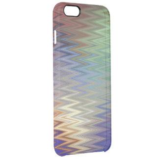 Color Zigzag iPhone 6/6S Plus Clear Case