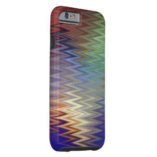 Color Zigzag iPhone 6/6S Tough Case