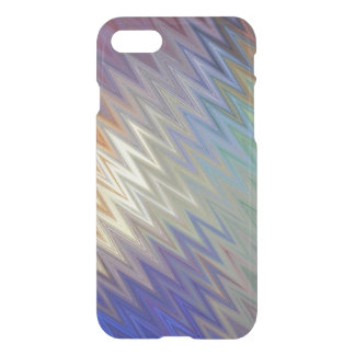 Color Zigzag iPhone 7 Clear Case