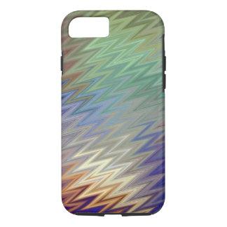 Color Zigzag iPhone X/8/7 Tough Case