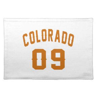 Colorado 09 Birthday Designs Placemat