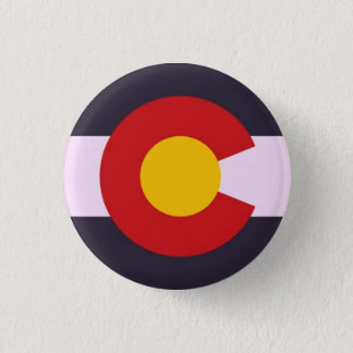 Colorado 1 Inch Round Button