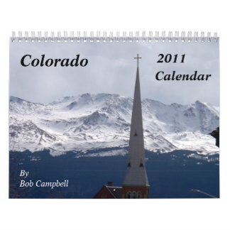 Colorado 2011 Scenic Calendar