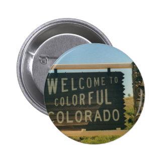 Colorado 2 Inch Round Button