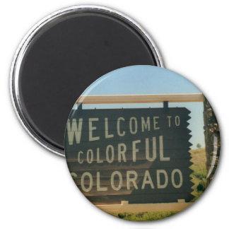 Colorado 2 Inch Round Magnet