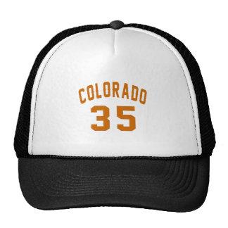 Colorado 35 Birthday Designs Trucker Hat
