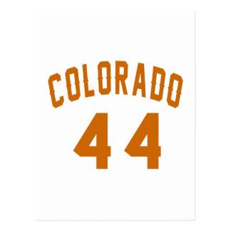 Colorado 44 Birthday Designs Postcard