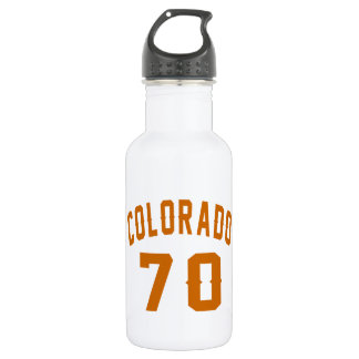 Colorado 70 Birthday Designs 532 Ml Water Bottle