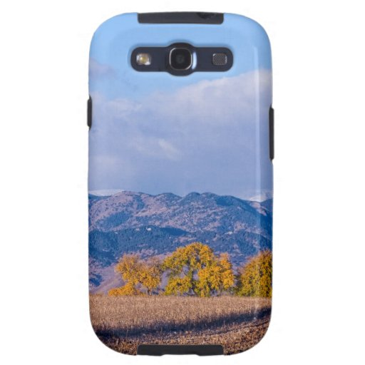 Colorado Autumn Morning Scenic View Samsung Galaxy SIII Covers