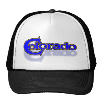 Colorado bangle cap trucker hat